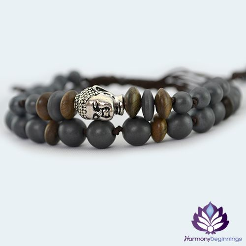 Our Buddha Sacred Root bracelet has been designed with Hematite Gemstones and natural wood accent beads. The Buddha bead is high quality antique silver TierraCast. Your Root Chakra connects you to the physical world. It governs over your physical energies, giving a sense of safety and security. Breathe - Ground yourself to the Earth. ~ I am safe in the world around me. I belong in this world, and am a part of Gaia (mother-earth). I am at ...