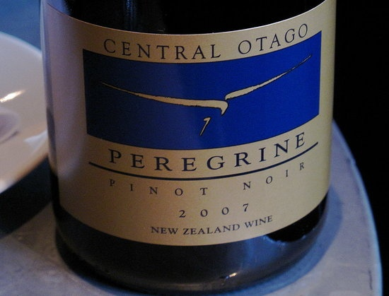 """HAPPY HOUR: 2007 PEREGRINE PINOT NOIR """"I noted the wine was soft on the nose, with cherry up front, some red plum in the middle of the palate, and a supple finish. It's a reserve-quality bottle with an extremely reasonable price tag. Have you ever had a New Zealand Pinot Noir?"""""""