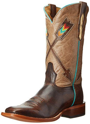 Johnny Ringo Women's Arrow Riding Boot, Brown, 7 B US * Click image to review more details.