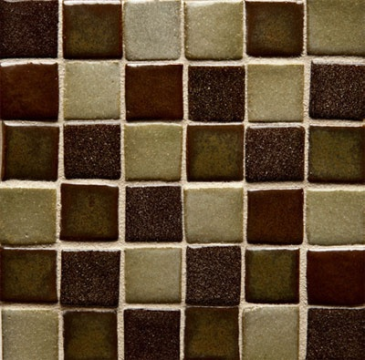Mosaique 1x1 Ceramic Field Tile Mosaic Custom Colors 12x12 Sheets Available In 15