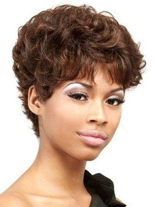 Perruque ondulée a la mode de 100% cheveux naturels incroyable - Photo 1
