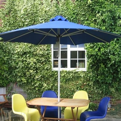 The Corona Centerpost Umbrella Is Right At Home Between Chaise Loungers Or  In The Middle Of A Dining Table. This Vented Umbrella Is Available In  Square And ...