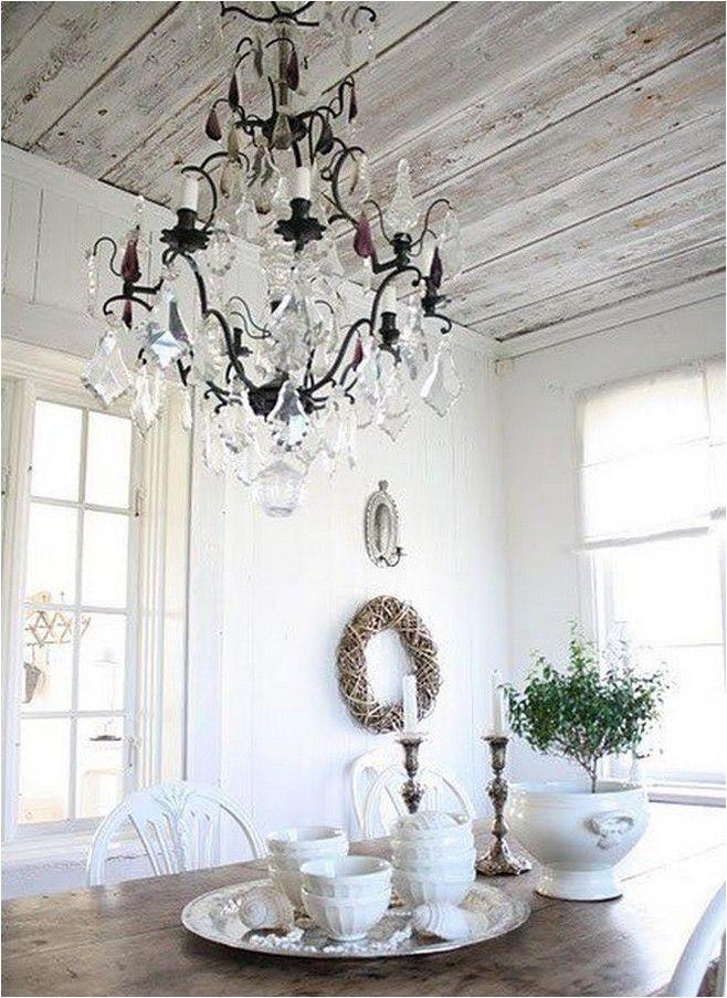 белый деревянный потолок - Поиск в Google