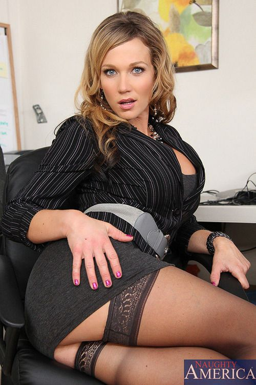 Boss fucking girl in pantyhose