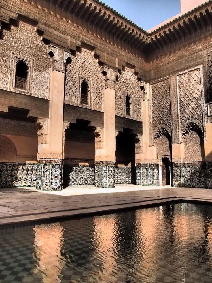 Ali Ben Youssef Medersa ~ Marrakech, Kingdom of Morocco....
