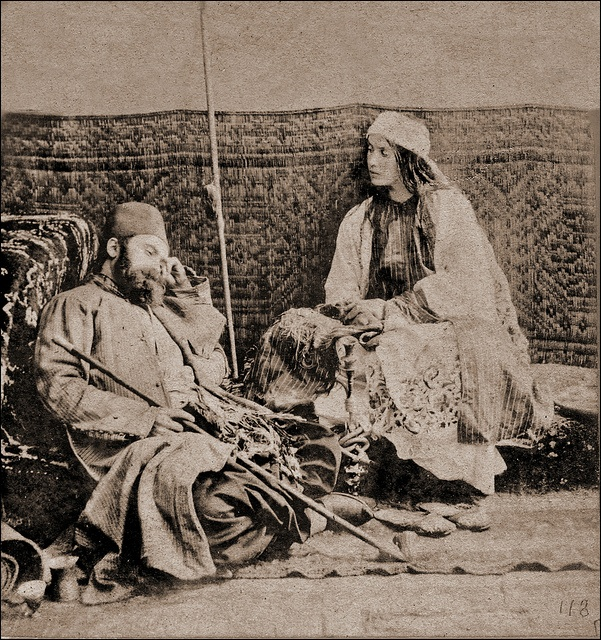 Turkish Scene (1857 CE Ottoman Caliphate) -William Morris Grundy (Photographer; 1806-1859 CE)