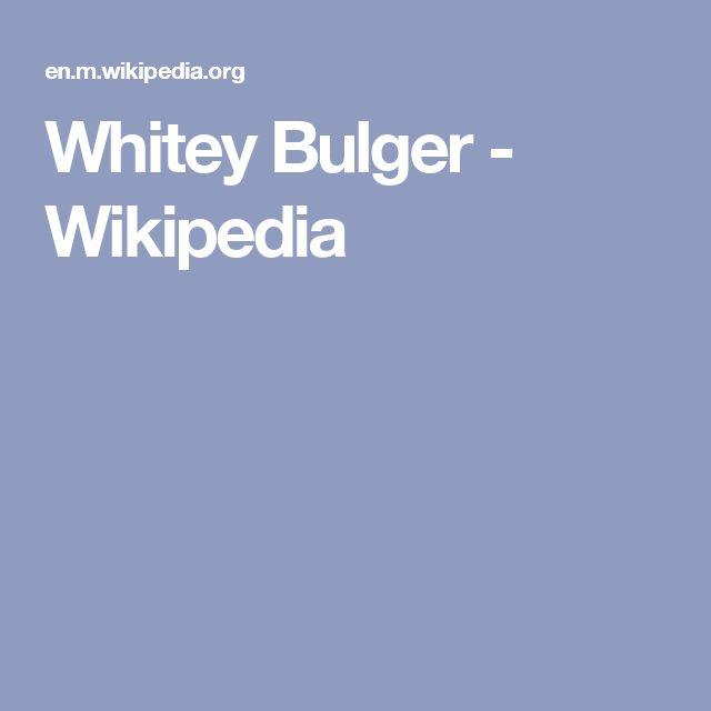 Whitey Bulger - Wikipedia