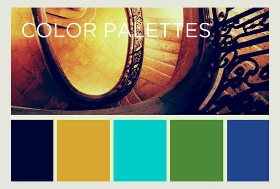 Board Cover: Color Palettes.