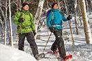 Snowshoe Parc Mont Tremblant  + Check out our Snowshoe for Two Bundle http://www.cleverbundle.com/bundles/showshoe-for-two