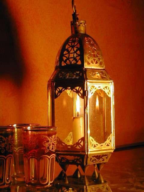 Moroccan brass table top lantern. http://www.maroque.co.uk/showitem.aspx?id=ENT00105&s=20-10-017