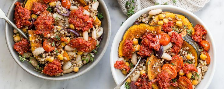 Buckwheat & Bean Salad with Sundried Tomato Dressing - Ceres - Organic Food Distributors - Ceres Organics
