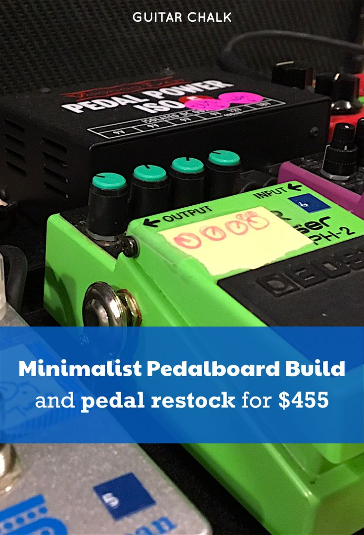 30 Best Music Images On Pinterest Guitars Guitar Chord Chart And Humbucker Wiring Challenge Mylespaulcom Building A Minimalist Pedalboard Restocking Pedals For 455 Guitarpedals Https