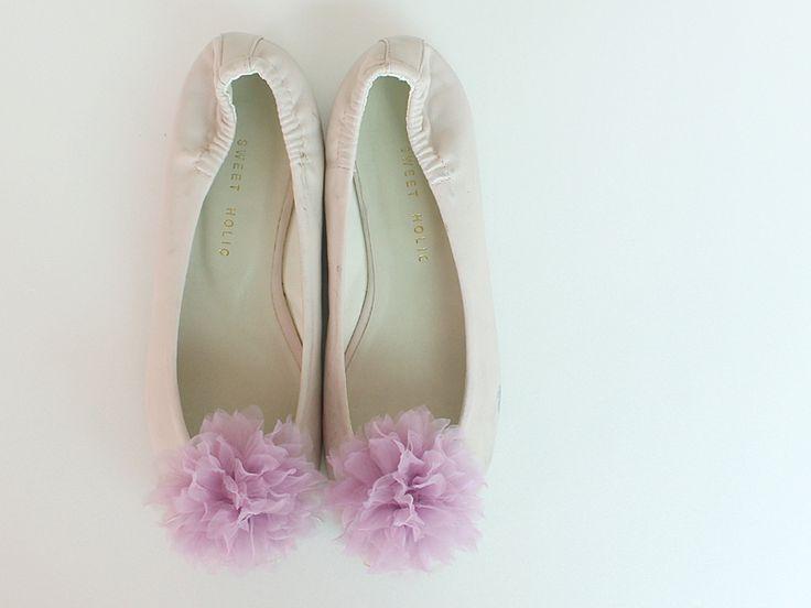 Purple Bridal Shoe Clips,Shoe Clips,Wedding  from violetcloset by DaWanda.com