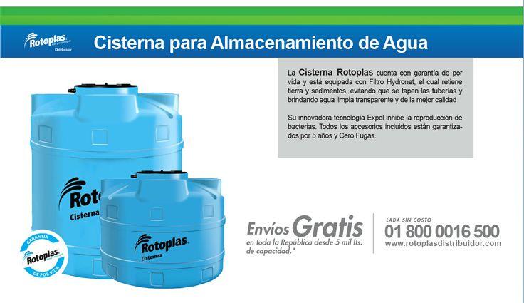 Cisternas Rotoplas #Tanques #Rotoplas #Cisternas #Agua Lada sin costo 01 800 0016 500 http://www.rotoplasdistribuidor.com/productos/biodigestor-rotoplas-funcionamiento