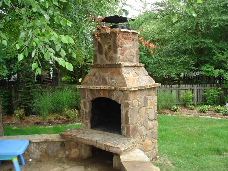 17 best ideas about outdoor fireplace brick on pinterest
