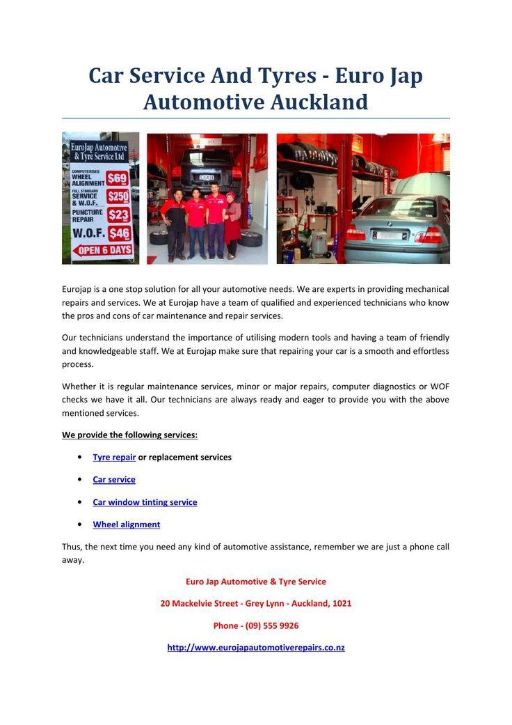 Car service and tyres euro jap automotive auckland