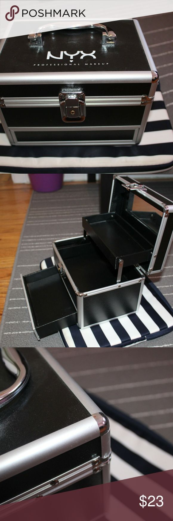 NYX Mini Train Case NYX Mini Train Case Three tiered