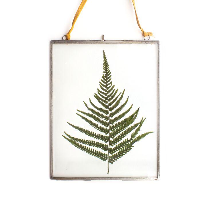 Deze zilveren frame is super leuk om aan de muur te hangen. Je vindt deze lijsten in de webshop van Fabrikten.