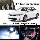 Classy Autos Toyota Camry WHITE Interior LED Package (8 Pieces)