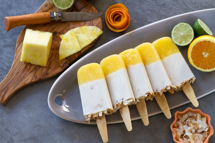 Painkiller Cocktail Popsicles | http://saltandwind.com