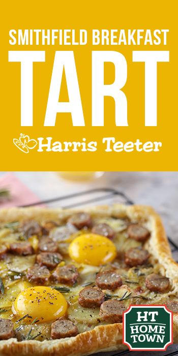 Brunch never looked so good! Try this Breakfast Tart at your next gathering.
