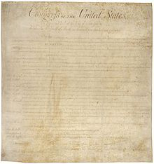 "The Fourth Amendment - "" The right of the people to be secure in their persons, houses, papers, and effects, against unreasonable searches and seizures, shall not be violated, and no Warrants shall issue, but upon probable cause, supported by Oath or affirmation, and particularly describing the place to be searched, and the persons or things to be seized.""  Passed by Congress September 25, 1789. Ratified December 15, 1791. The first 10 amendments form the Bill of Rights."