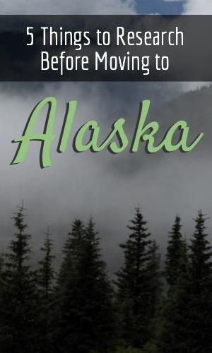 Here are 5 things to research before you move to Alaska! Consider things like the temperature, the cost and the best season to move. Alaska is beautiful, but the move can be more involved than an interstate move.