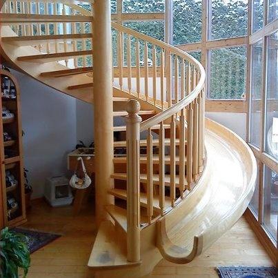 büyüklere merdiven küçüklere kaydırak