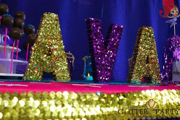 Ava's Shimmer And Shine Genie Party  | CatchMyParty.com