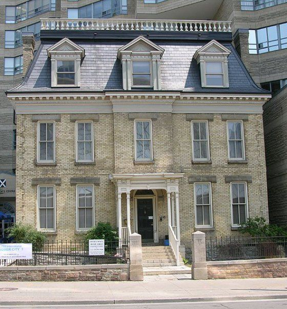 1000 images about second empire mansard roofs on for French mansard house plans