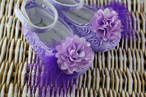 4 colors Baby girl purple Shoes purple Baby by IzabellaBABY