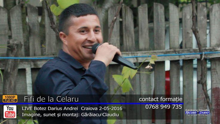 FIFI si Strugurel de la Celaru LIVE Colaj SARBA part.1   Botez Darius An...