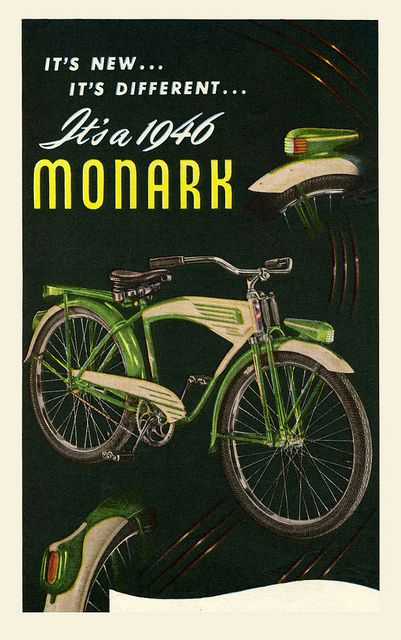 Vintage green bicycle blog...  Nothing but old and retro green bikes