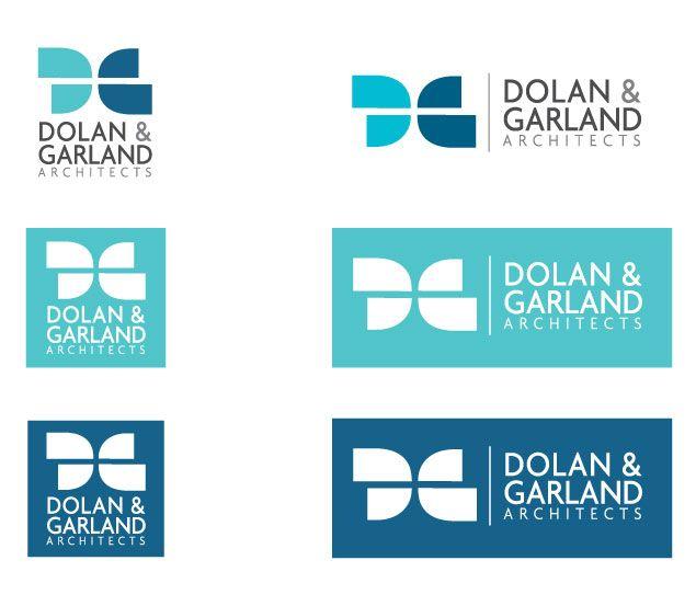 Logo design variations for Dolan & Garland