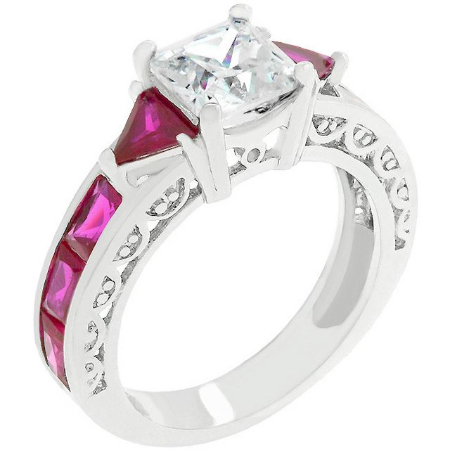 Extraordinary Red Ruby Jewelry. Not only is it beautiful but it's my birthstone!!