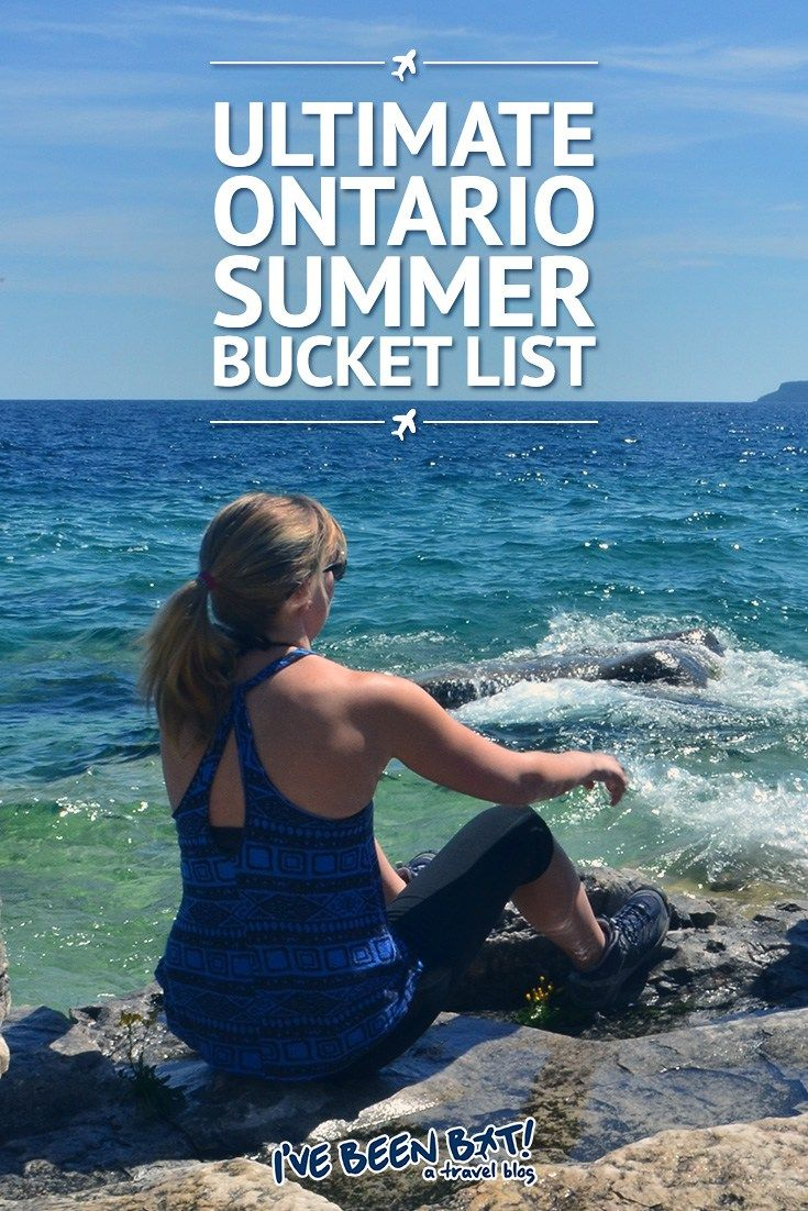 IveBeenBit.ca :: Ultimate Ontario Summer Bucket List | Canada, Travel, Hiking, Ziplining, Spa Day, Relax, Cruise, Music Festivals, Niagara White Water Rapids, Scandinave Spa, Kayaking | #travel #Ontario #Summer #Niagara #GreyCounty #Collingwood #ThousandIslands #1000Islands