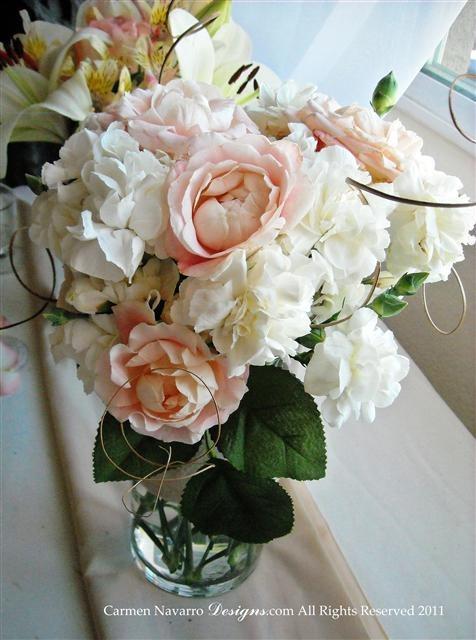 Love this soft pink Wedding scheme! I loved designing this wedding!