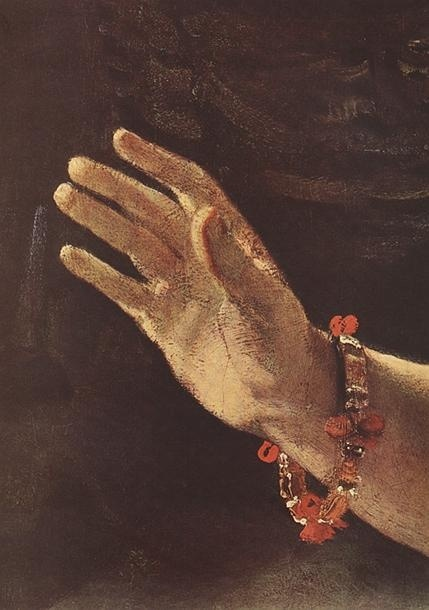 Rembrandt's Hand | The Mirror Obscura-- Poem