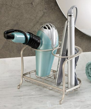 Another great find on #zulily! Satin York Lyra Hair Dryer & Flat Iron Holder #zulilyfinds