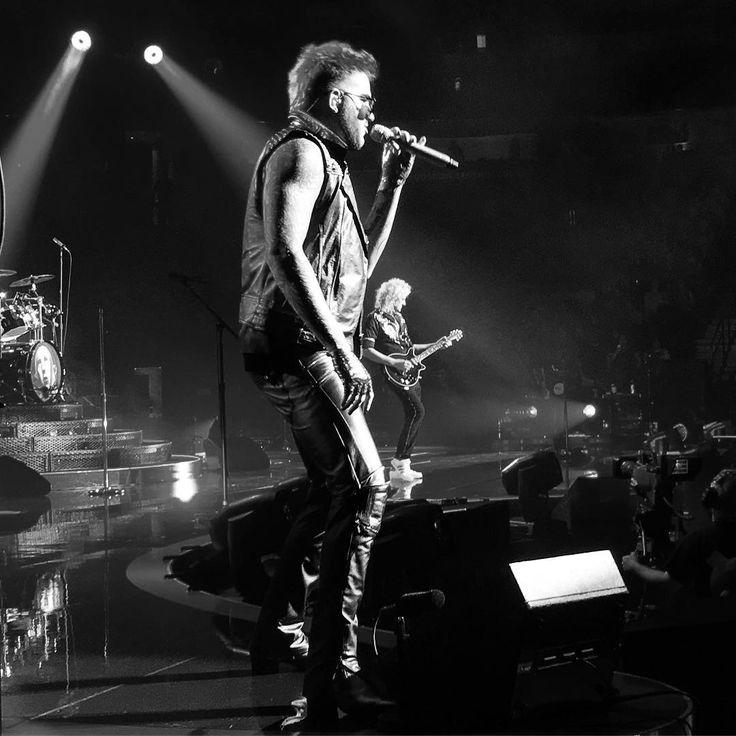 """""""Queen with Adam Lambert #stagehandlife #stagehand #denver #wanderlust #wanderer #colorado…"""""""