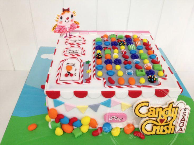 Yo juego con este Candy Crush.