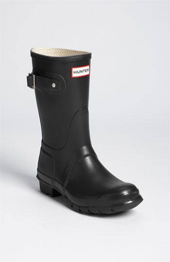 Hunter 'Original Short' Rain Boot available at #Nordstrom