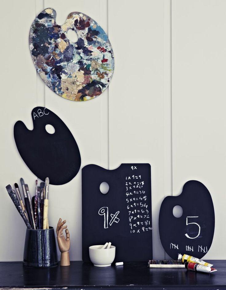 blackboard palette | Book Review: The Homemade Home for Children - Urban Comfort