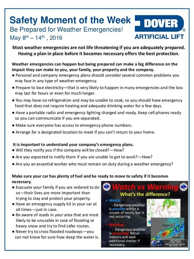 Be Prepared for Weather Emergencies! Alberta Oil Tool's