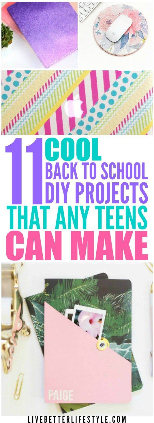 11 Awesome Back To School DIYs For Teens