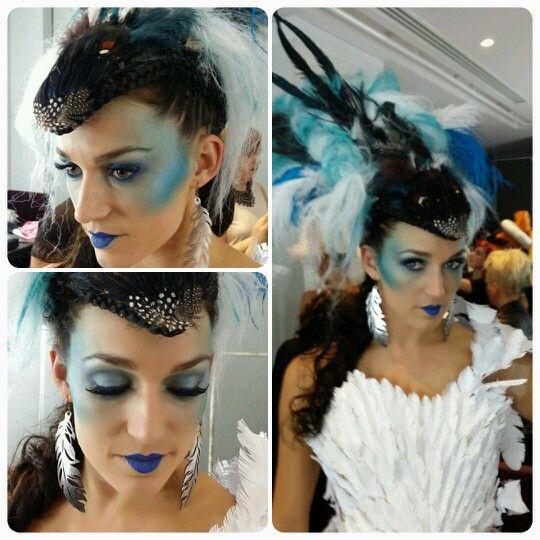 Hair Expo 2014. Makeup by Graduate Christina Pirrello