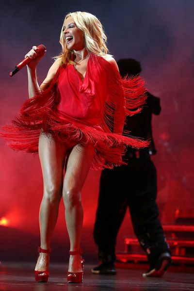 Kylie Minogue Photos Photos - (EXCLUSIVE COVERAGE) In this handout photo…
