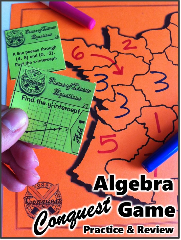 The students love that this game is ongoing! Fun way to practice Algebra concepts