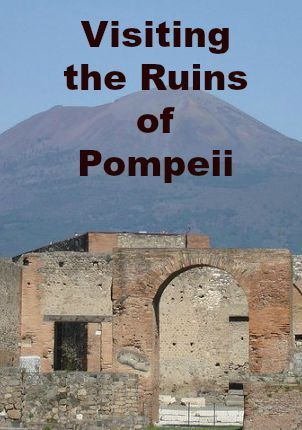 The ruins of Pompeii are a UNESCO World Heritage Site, and is one of the most visit travel sites in Italy.