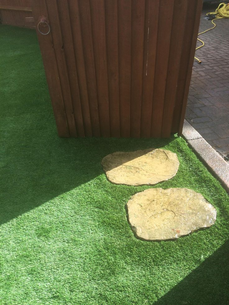 Do you have stepping stones in your garden that no one seems to step on, leaving the surrounding lawn looking less than lush? It wasn't only Red Riding Hood who strayed from the path, right? At Caversham AG we can do a garden makeover using your existing stepping stones and our top-level artificial grass, bringing life to your grass (also keeping that proverbial wolf well away).    Let your friends and family take a step into a green garden all year round by contacting us for a free survey.